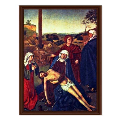 El luto de Cristo de Christus Petrus Tarjeta Postal