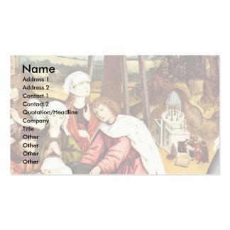 El luto de Cristo por la salchicha de Frankfurt Sc Tarjetas De Visita