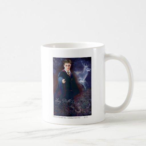 El macho Patronus de Harry Potter Tazas De Café