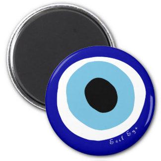 El mal de ojo imán redondo 5 cm