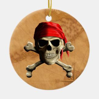 El mapa alegre del pirata de Rogelio Adorno Redondo De Cerámica