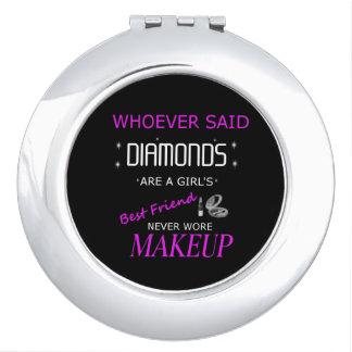 El maquillaje es mi espejo compacto de BFF