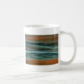 El mar clásico de los regalos de la decoración de  taza de café