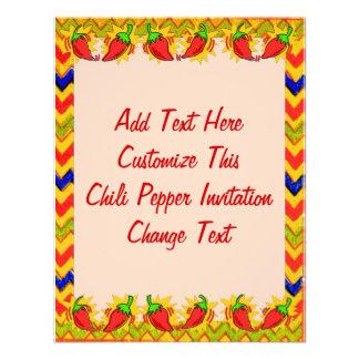 El marco 2 de la pimienta de chile, añade el texto comunicado