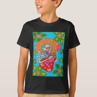 El Mariachi Serenade - el día del esqueleto muerto Camiseta