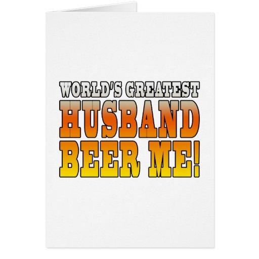 El marido más grande de boda de los mundos diverti felicitaciones