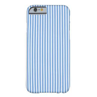 El marinero azul claro y blanco raya la caja del funda barely there iPhone 6