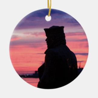 El marinero solitario ornaments para arbol de navidad