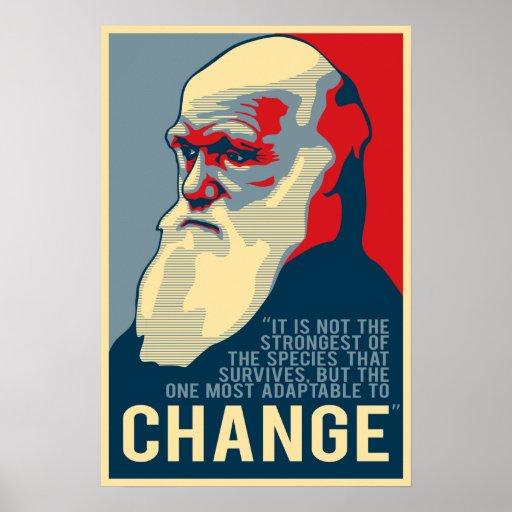 El más adaptable cambiar poster