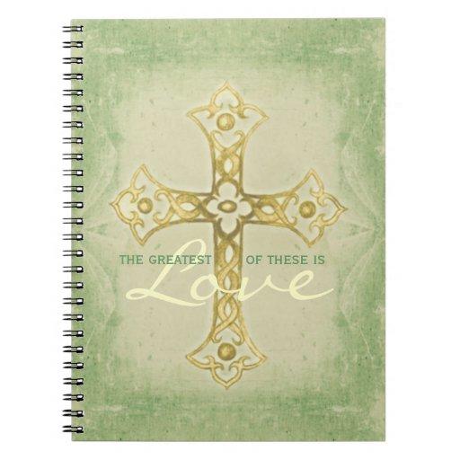 El más grande es cuaderno de la cruz del amor