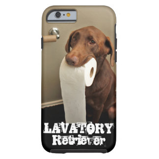 ¡El más noble de perro perdiguero del SERVICIO de Funda Resistente iPhone 6