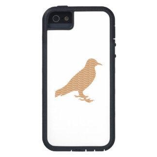 El MASCOTA duro del PÁJARO del caso del iPhone 5 iPhone 5 Protector