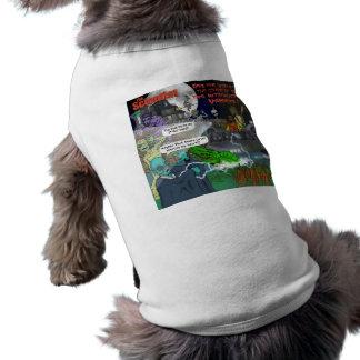 El mascota intergaláctico de los vampiros camiseta de perro