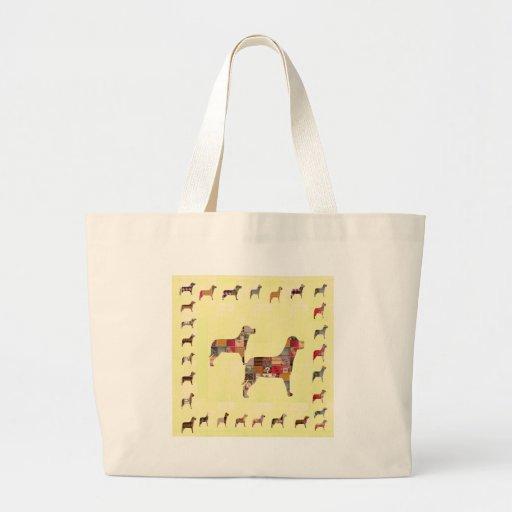 El mascota pintado de los regalos de los PERROS Bolsa