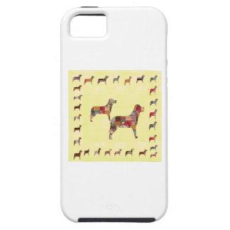 El mascota pintado de los regalos de los PERROS iPhone 5 Cobertura
