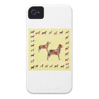 El mascota pintado de los regalos de los PERROS iPhone 4 Cobertura