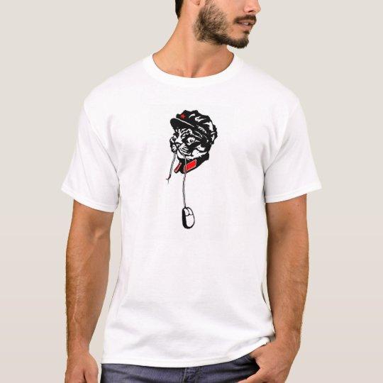 El maullido del presidente es camiseta hambrienta