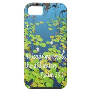Él me lleva al lado de las aguas inmóviles funda para iPhone SE/5/5s