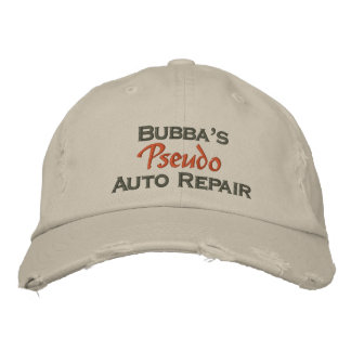 El mecánico divertido de los hombres gorra de beisbol bordada