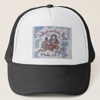 El mecánico gorra de camionero