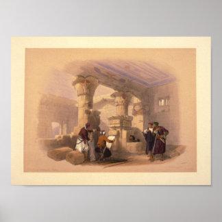EL Medeeneh de Dayr--Thebes Póster