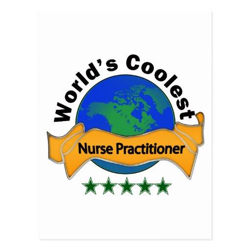 El médico más fresco de la enfermera del mundo tarjeta postal
