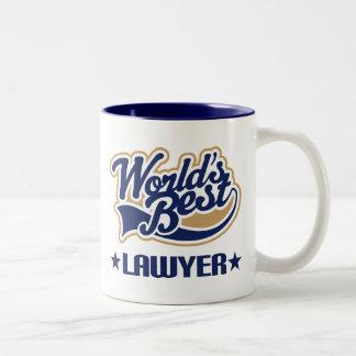 El mejor abogado de los mundos taza de café