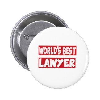 El mejor abogado del mundo chapa redonda 5 cm