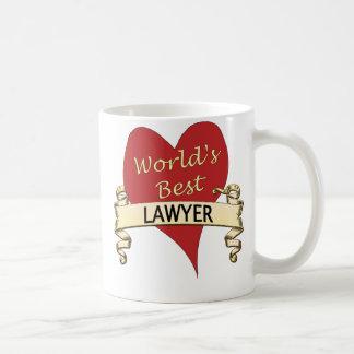 El mejor abogado del mundo taza de café