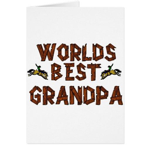 El mejor abuelo de los mundos tarjetas