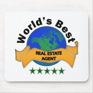 El mejor agente inmobiliario del mundo alfombrilla de ratón