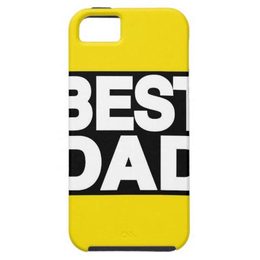 El mejor amarillo de LG del papá iPhone 5 Case-Mate Protector