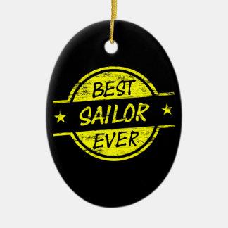 El mejor amarillo del marinero nunca adornos