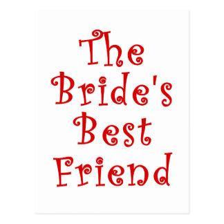 El mejor amigo de las novias postal