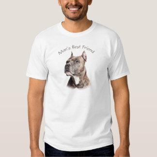 El mejor amigo del hombre del pitbull camisas
