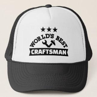 El mejor artesano del mundo gorra de camionero