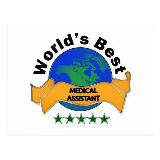 El mejor auxiliar médico del mundo postal
