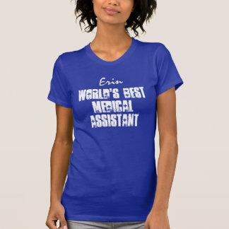 El mejor auxiliar médico o la cualquier camiseta