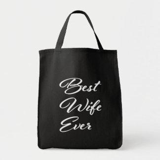El mejor bolso de ultramarinos de la esposa nunca