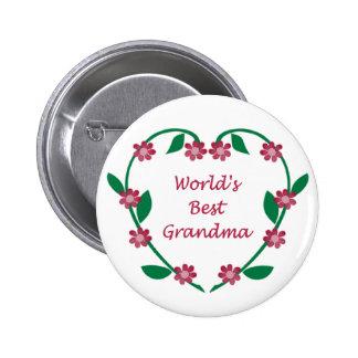 El mejor botón de la abuela del mundo pins
