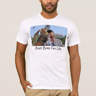 El mejor Bros para la vida Camiseta