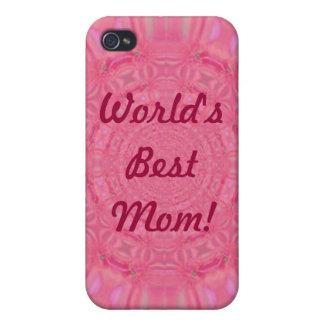 El mejor caso del iPhone 4 del rosa de la mamá del iPhone 4/4S Carcasa
