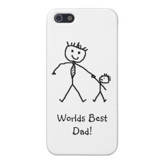 El mejor caso del iPhone 5 del papá de los mundos iPhone 5 Cárcasa