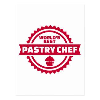 El mejor chef de repostería del mundo postal
