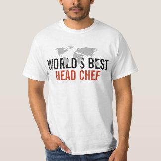 El mejor chef del mundo camisas