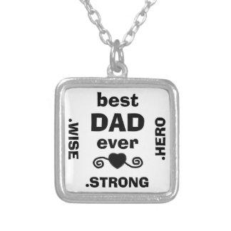 el mejor collar del héroe del papá nunca