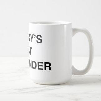 El mejor comandante de la galaxia taza de café