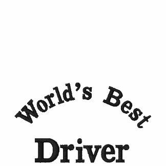 El mejor conductor de World'd, camisa bordada Camiseta Polo Bordada