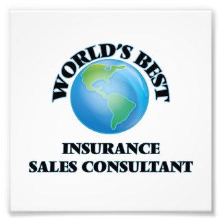 El mejor consultor de las ventas del seguro del impresiones fotográficas