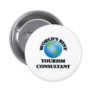 El mejor consultor del turismo del mundo pins